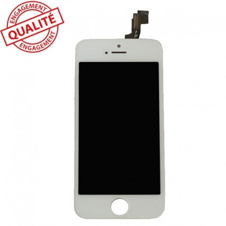 Ecran lcd iphone 4 blanc complet