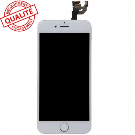 Ecran lcd iphone 6s plus blanc