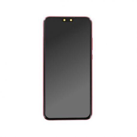 Ecran lcd Huawei Y9 2019 rouge corail