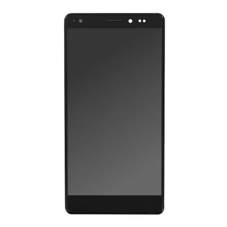 Ecran lcd Huawei Mate S sur chassis noir sans logo