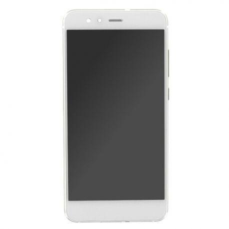Ecran lcd Huawei P10 Lite sur chassis blanc sans logo