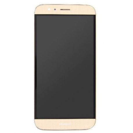 Ecran lcd Huawei Ascend G8 sur chassis doré