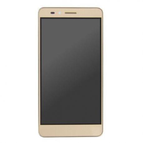 Ecran lcd Huawei Honor 5X sur chassis doré