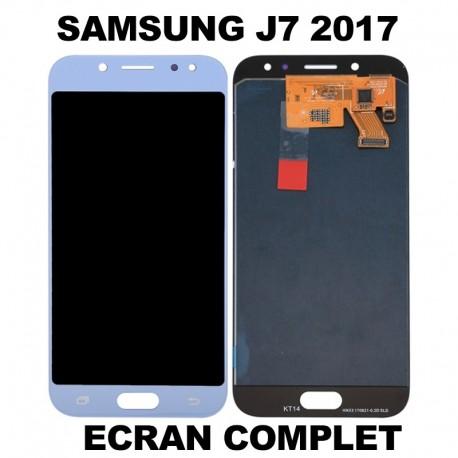 Ecran LCD Samsung J7 2017 Bleu