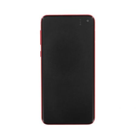 Ecran Samsung Galaxy S10e G970F rouge
