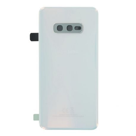 Vitre arrière Samsung Galaxy S10e G970F blanc